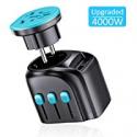Deals List: APZEK Universal Travel Adapter Upgraded 4000W High Power