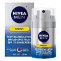 Deals List: Nivea Men Energy Lotion Broad Spectrum Spf 15 Sunscreen 1.7Oz