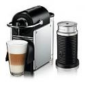 Deals List: Nespresso Pixie Espresso Machine by De'Longhi with Aeroccino Milk Frother