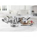 Deals List: Cuisinart 10 Piece Stainless Steel Cookware Set