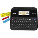 Deals List: Brother P-touch Label Maker, PC-Connectable Labeler, PTD600, Color Display, High-Resolution PC Printing, Black, Black/gray