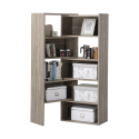 Deals List: Homestar Flexible and Expandable Shelving Console, Reclaimed Wood