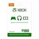 Deals List: Microsoft XBOX Live $100 Digital Gift Card