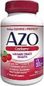 Deals List: AZO Cranberry Urinary Tract Health Dietary Supplement, 1 Serving = 1 Glass of Cranberry Juice, Helps Cleanse + Protect the Urinary Tract, Sugar Free, Fast Acting, 100 Count
