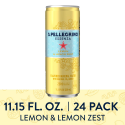 Deals List: S.Pellegrino Essenza Lemon & Lemon Zest Flavored Mineral Water Cans, 11.15 Fl Oz (24 Pack)