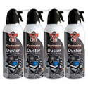 Deals List: 4-Pack Falcon Dust-Off Electronics Compressed Gas Duster 10Oz