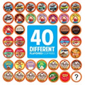 Deals List: 40CT Two Rivers Coffee Flavored Coffee Pods Variety Pack