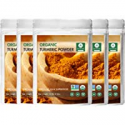 Deals List: 5PK Naturevibe Premium Quality Organic Turmeric Root Powder 1 lb