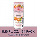 Deals List: San pellegrino Momenti Clementine & Peach Cans, 11.15 Fl Oz (24 Pack)