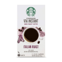Deals List: Starbucks VIA Instant Italian Roast Dark Roast Coffee, 8 Count (Pack of 1)