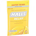 Deals List: Halls Sugar Free Cough Suppressant, Honey-Lemon, 180-Drop Bag