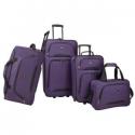 Deals List: U.S Traveler Vineyard 4-Piece Softside Luggage Set