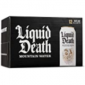 Deals List: Liquid Death Mountain Water, 16 oz Tallboys (12-Pack)