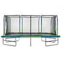 Deals List: Upper Bounce Mega Trampoline with Fiber Flex Enclosure System, 10' X 17'
