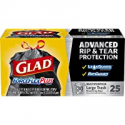 Deals List: Glad Large Drawstring Trash Bags ForceFlexPlus 30 Gallon Black Trash Bag - 25 Count