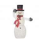 Deals List: Home Accents Holiday 62.5 in. Warm White LED Animated PVC Snowman with Hat and Scarf
