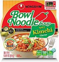 Deals List: Nongshim Bowl Noodle Soup, Kimchi, 3.03 Ounce (Pack of 4)