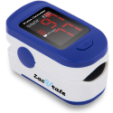 Deals List: Zacurate 500BL Fingertip Pulse Oximeter Blood Oxygen Saturation Monitor with Batteries and Lanyard Included (Navy Blue)