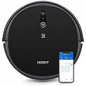 Deals List: ECOVACS DEEBOT 711S Robot Vacuum Cleaner with Smart Navi 2.0 Visual Mapping, Max Power Suction, Up to 130 Min Runtime, Hard Floors & Carpets, Pet Hair, App Controls, Self-Charging, Quiet, Black