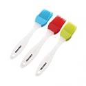 Deals List: 3Pk Silcony Heat Resistant 7-in Silicone Basting Pastry Brushes