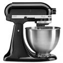 Deals List: KitchenAid Classic Series 4.5 Quart Tilt-Head Stand Mixer, Onyx Black (K45SSOB)