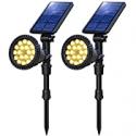 Deals List: OSORD 18 LED 2-in-1 Solar Landscape Spotlights