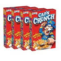 Deals List: 4-Pk Quaker Capn Crunch Breakfast Cereal Original 14Oz