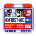 Deals List: Be Smart Get Prepared 10HBC01082 100Piece First Aid Kit 0.71 Lb