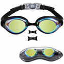 Deals List: Aegend Nose Piece Replaceable Swimming Goggles w/Flat Lens