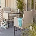 Deals List: Hampton Bay Aria 3-Piece Balcony Patio Bistro Set