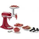 Deals List: KitchenAid - Food Grinder Attachment - Silver, KSMMGA