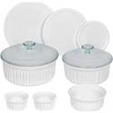 Deals List: CorningWare 10-Piece Set French White Ceramic Bakeware