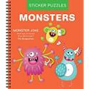 Deals List: Sticker Puzzles: Monsters Spiral-Bound