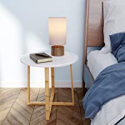 Deals List: BAMEOS Round Side End Accent Coffee Table