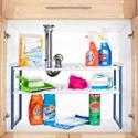 Deals List: Stalwart Adjustable Under Sink Shelf Organizer Unit