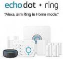 Deals List: Ring Alarm 5 Piece Kit + Echo Dot (3rd Gen), Works with Alexa