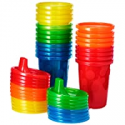 Deals List: The First Years Take & Toss Spill Proof Sippy Cups Value Pack, Rainbow, 20-Pieces