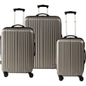 Deals List: Staples ABS 3 Piece Luggage Set 51459 f