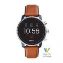 Deals List: Fossil Gen 4 Smartwatch Explorist Hr Tan Leather FTW4016