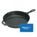 Deals List: Lodge L8SK3 Pre-Seasoned 10.25-In Cast Iron Skillet + $5 Walmart GC