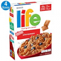 Deals List: Life Multigrain Cereal, Cinnamon, 13-Ounce Boxes (Pack of 4)