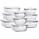 Deals List: Bayco Glass Storage Containers with Lids 9 Sets