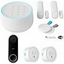 Deals List: Nest Secure Alarm System Starter Pack + Nest Hello Video Doorbell + 2-Pack Deco Gear Smart Plugs