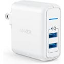 Deals List: Anker USB Elite Dual Port 24W Wall Charger PowerPort 2