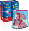 Deals List: 104-Count Ziploc Gallon Slider Stand-and-Fill Storage Bags For Food, Sandwich, Organization