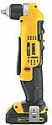 Deals List: DEWALT 20V MAX Right Angle Cordless Drill/Driver Kit (DCD740C1)