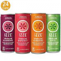 Deals List: IZZE Sparkling Juice, 4 Flavor Variety Pack, 8.4 Fl Oz (Pack of 24)