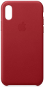 Deals List: Apple Leather Case (for iPhone Xs) - (Product) RED