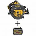 Deals List:  DEWALT FLEXVOLT 60V MAX Li-Ion Cordless Brushless 7-1/4 in. Circular Saw with Li-Ion 6.0Ah Battery