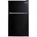 Deals List: Arctic King 3.2 Cu Ft Two Door Mini Fridge with Freezer, Black